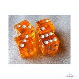 Tumblin Dice: 8 Extra Dobbelstenen (Geel & Oranje)