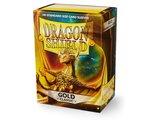 Dragon Shield Card Sleeves: Standard Gold (63x88mm)
