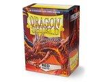 Dragon Shield Card Sleeves: Standard Matte Red (63x88mm) - 100 stuks_