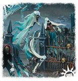 Warhammer: Age of Sigmar - Nighthaunt Myrmourn Banshees (Easy to Build)