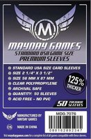 Mayday Card Sleeves (Premium): Standard USA (56x87mm) - 50 stuks