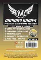 Mayday Card Sleeves (Premium): Ultra Fit (80x120mm) - 50 stuks