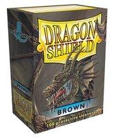 Dragon Shield Card Sleeves: Standard Brown (63x88mm) - 100 stuks