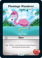 Promo Munchkin CCG: Flamingo Wanderer