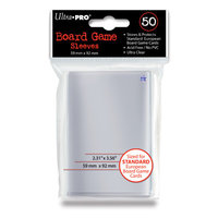 Ultra Pro Board Game Sleeves: Standard (59x92mm) - 50 stuks