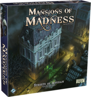 PRE-ORDER: Mansions of Madness (2nd Edition): Streets of Arkham