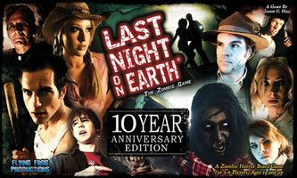 PRE-ORDER: Last Night on Earth: The Zombie Game – 10 Year Anniversary Edition