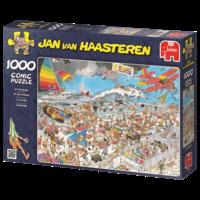 Op het Strand - Jan van Haasteren (1000)