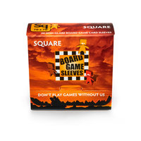 Board Game Sleeves (Non-Glare): Square (69x69mm) - 50 stuks
