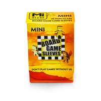 Board Game Sleeves (Non-Glare): Mini (41x63mm) - 50 stuks