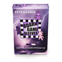 Board Game Sleeves (Non-Glare): Extra Large (65x100mm) - 50 stuks