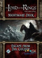 The Lord of the Rings LCG: The Card Game - Escape from Dol Guldur (Nightmare Deck)