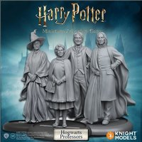Harry Potter Miniatures Adventure Game: Hogwarts Professors (Miniatures Pack)