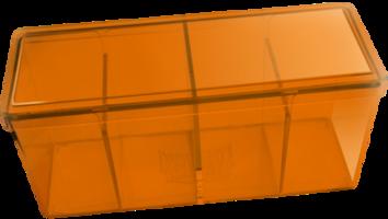 Four Compartment Box (Orange)