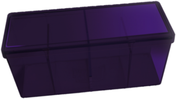 Four Compartment Box (Purple)