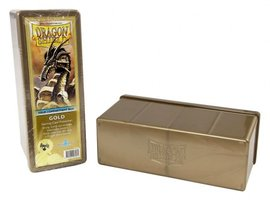 Four Compartment Box (Gold)