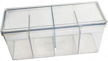 Four Compartment Box (Clear)