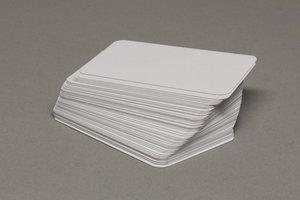 Blanco Speelkaarten (Rechthoekig, Klein)
