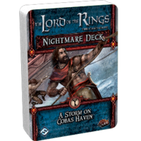 The Lord of the Rings LCG: The Card Game - A Storm on Cobas Haven (Nightmare Deck)