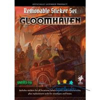 Gloomhaven: Removable Sticker Sheet