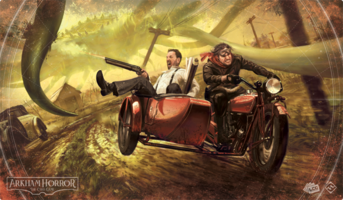 Arkham Horror: The Card Game - Narrow Escape Playmat