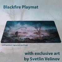 Blackfire Ultrafine Playmat - Svetlin Velinov Edition (Swamp)