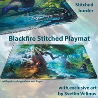 Blackfire Ultrafine Stitched Playmat - Svetlin Velinov Edition (Forest)