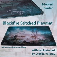 Blackfire Ultrafine Stitched Playmat - Svetlin Velinov Edition (Swamp)
