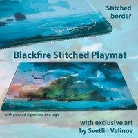 Blackfire Ultrafine Stitched Playmat - Svetlin Velinov Edition (Island)