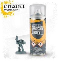 Mechanicus Standard Grey Spray (Citadel)