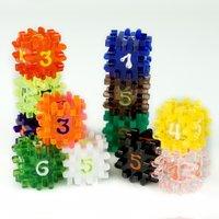 Constructible Dice (2 stuks) - Verschillende kleuren te kiezen