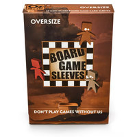 Board Game Sleeves (Non-Glare): Oversize (79x120mm) - 50 stuks