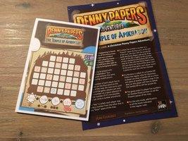 Promo Penny Papers Adventures: The Temple of Apikhabou - Santa's Secret Liar