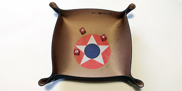 Dice Tray Square: USA WWII (All Rolled Up)