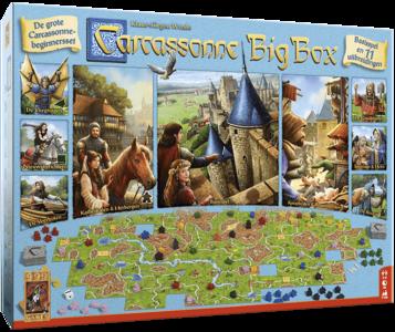 PRE-ORDER: Carcassonne Big Box 3