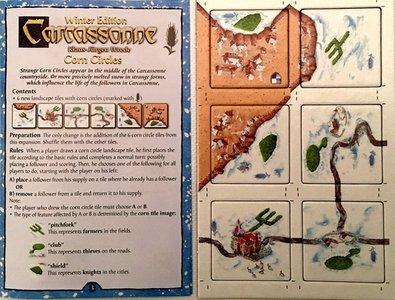 Promo Carcassonne Wintereditie: Graanvelden