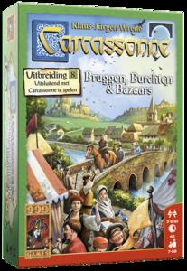 Carcassonne: Bruggen, Burchten & Bazaars