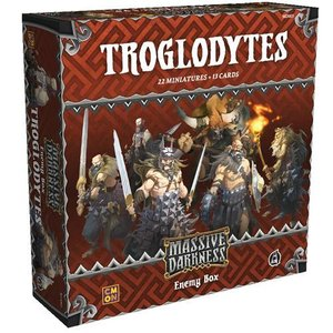 Massive Darkness: Enemy Box - Troglodytes