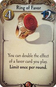 Promo Alchemists: Ring of Favor