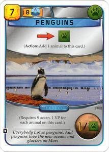 Promo Terraforming Mars: Penguins