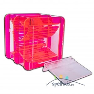 Blackfire Dice Container (Fluorescent Red)