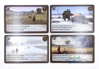 Scythe: Promo Encounter Cards 29-32