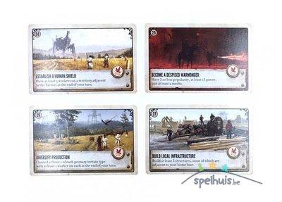Scythe: Promo Objective Cards 24-27