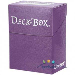 Ultra Pro Deck Box (Purple)