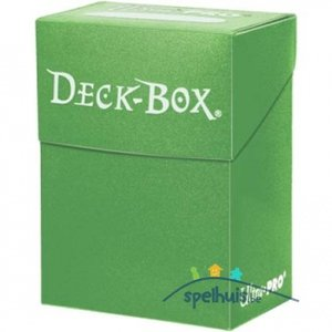 Ultra Pro Deck Box (Lime Green)