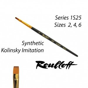 Roubloff Fine-Art Synthetic Brush: Drybrush Small (1S25-2)