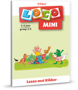 Mini Loco - Lezen met Kikker (5-6 jaar)
