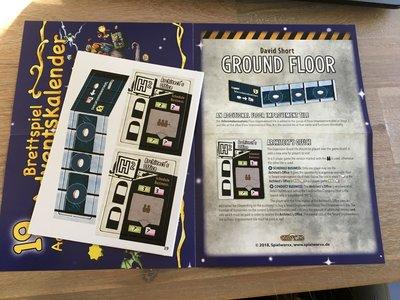 Promo Ground Floor: Architect's Office & Telecommunications Floor