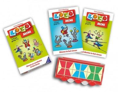 Mini Loco - Pakket: Dieren en Acrobaten in het Circus (4-6 jaar)