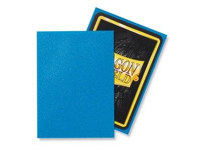 Dragon Shield Card Sleeves: Standard Matte Sapphire (63x88mm)